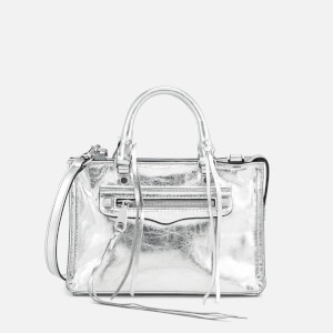 Rebecca Minkoff Women's Micro Regan Satchel - Silver