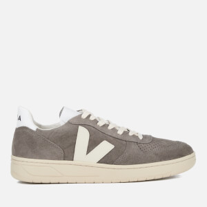 Veja Men's V-10 Suede Trainers - Moonrock