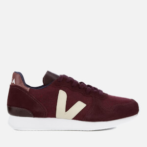 Veja Women's Holiday Runner Trainers - Pixel Burgundy Sable