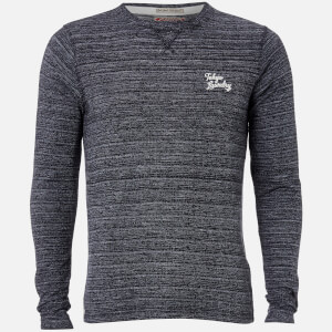 Tokyo Laundry Men's Underwood Long Sleeve Top - Charcoal