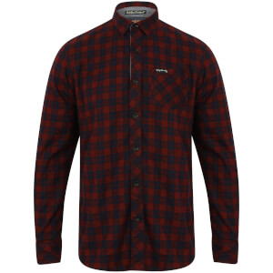 Tokyo Laundry Men's Glendale Flannel Long Sleeve Shirt - Red