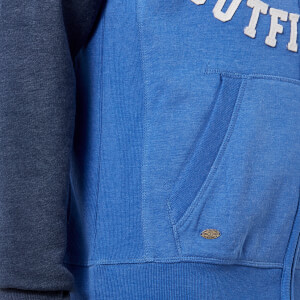 Tokyo Laundry Men's Arapaho Forest Zip Through Hoody - Indigo Marl: Image 3