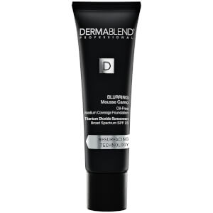 Dermablend Blurring Mousse Camo Foundation Make-Up with SPF25 for Oil-Free Medium to High Coverage - 40W Sahara