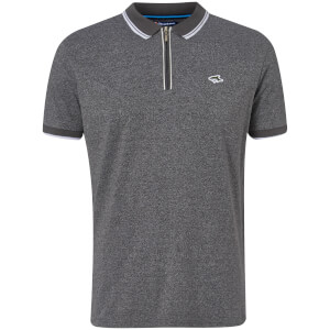 Le Shark Men's Holmdale Zip Polo Shirt - Ashpalt