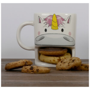 Unicorn Cookie Cup - White