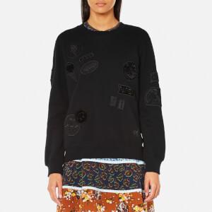 Coach Women's Patch Sweatshirt - Black