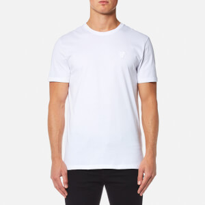 Versace Collection Men's Cotton Crew Neck T-Shirt - Bianco Lana