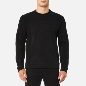 Versace Collection Men's Medusa Logo Sweatshirt - Nero