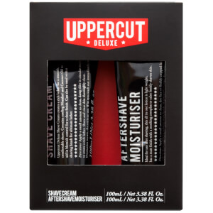 Uppercut Deluxe Shave Cream and Aftershave Duo