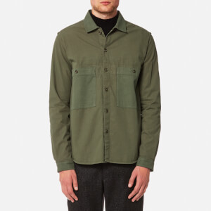 YMC Men's Doc Savage Shirt - Olive
