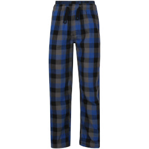 Tokyo Laundry Men's Kenning Check Lounge Pants - Monaco Blue: Image 2