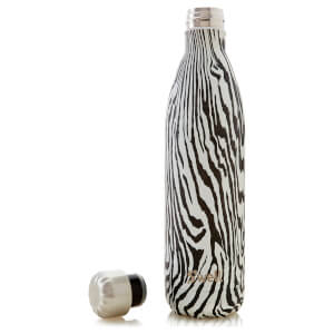 S'well The Textile Noir Zebra Water Bottle 750ml: Image 4