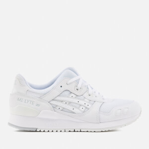 Asics Lifestyle Gel-Lyte III Trainers - White/White
