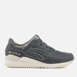 Asics Lifestyle Gel-Lyte III Trainers - Dark Grey/Dark Grey