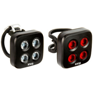 Knog Blinder Mob The Face Lightset - Black