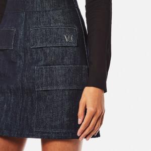Versace Jeans Women's Skirt - Indigo: Image 4