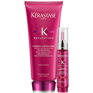 Condicionador Reflection Fondant Chromatique 200 ml e Corretor de Cor Touche Chromatique da Kérastase - Vermelho 10 ml