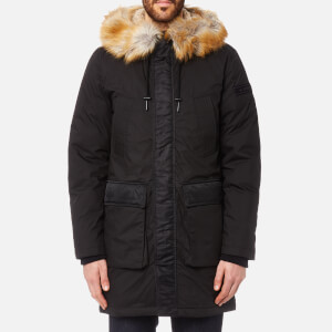 Diesel Men's Folk Parka Jacket - Black