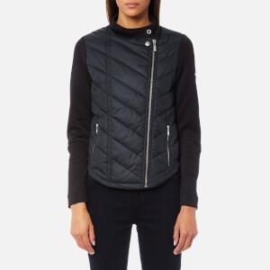 Barbour International Women's Dunnet Sweater Jacket - Black