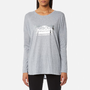 Barbour International Women's Mallory T-Shirt - Light Grey Marl