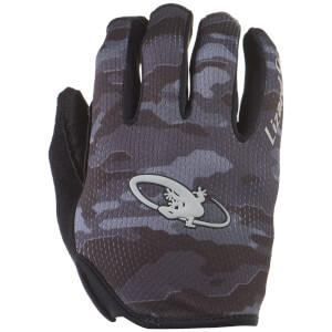Lizard Skins Monitor MTB Gloves - Black Camo