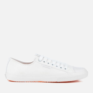 Superdry Men's Low Pro Sleek Trainers - White/White