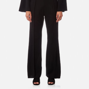 House of Sunny Women's Maxim Wide Legged Trousers - Supa Black
