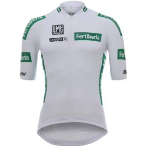 Santini La Vuelta 2017 Best Young Rider Jersey - White