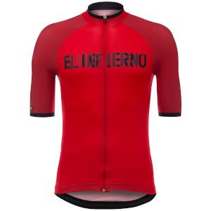 Santini La Vuelta 2017 El Infierno Angliru Jersey - Red