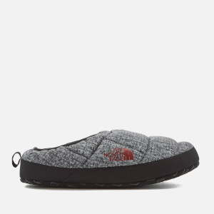 The North Face Men's NSE Tent Mule III Slippers - Phantom Grey Heather Print/Ketchup Red