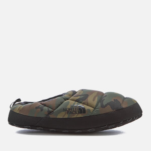 The North Face Men's NSE Tent Mule III Slippers - Black Forest Woodland Camo/TNF Black
