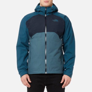 The North Face Men's Stratos Jacket - Conquer Blue/Urban Navy/Monterey Blue