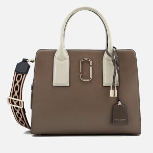 Marc Jacobs Women's Big Shot Shoulder Bag - French Grey Multi