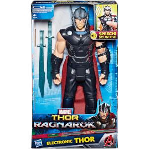 Marvel Avengers Thor: Ragnarok Thor Electronic Action Figure