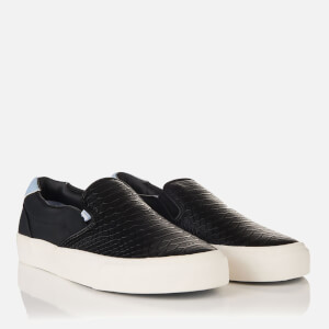 Superdry Women's Dion Slip On Trainers - Black Python