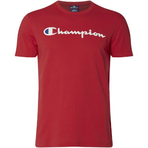 T-Shirt Homme Logo Champion - Rouge
