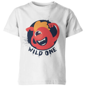 My Little Rascal Kids Wild One White T-Shirt