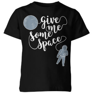 Give me Some Space Kid's Black T-Shirt