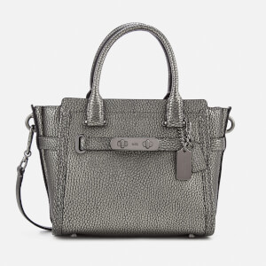 Coach Women's Swagger 21 Tote Bag - Gun Metal