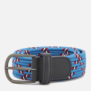 Anderson's Men's Woven Fabric Belt - Blue