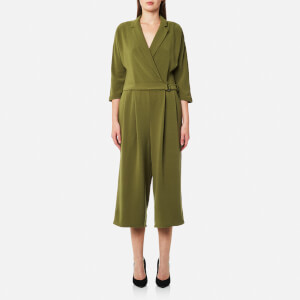 Selected Femme Women's Dalima 3/4 Jumpsuit - Mayfly