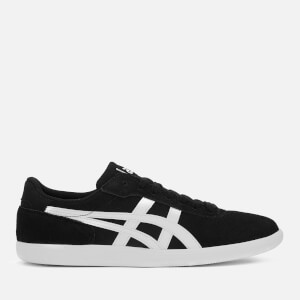 Asics Lifestyle Men's Precussor TRS Suede Court Trainers - Black/White