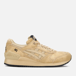 Asics Lifestyle Men's Gel-Respector Washed Suede Trainers - Taos Taupe/Taos Taupe