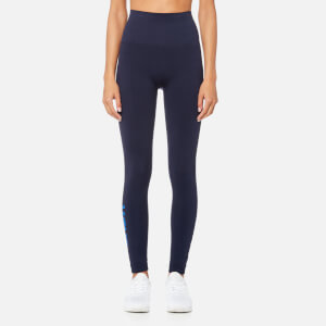 LNDR Women's Branded Full Length Seamless Leggings - Navy