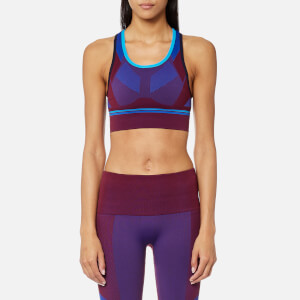 LNDR Women's Hustle Seamless Sports Bra - Burgundy