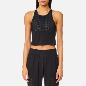 LNDR Women's Jog Crop Top - Black