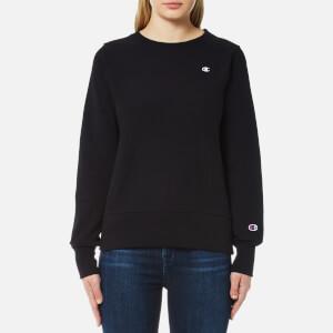 Champion Women's Crew Neck Sweatshirt - Black