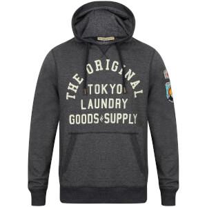 Tokyo Laundry Men's Timberfield Hoody - Dark Navy