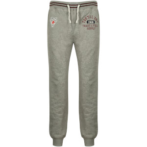 Tokyo Laundry Men's Red Lake Falls Cuffed Sweatpants - Light Grey Marl