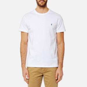 Joules Men's Short Sleeve Crew Neck T-Shirt - White